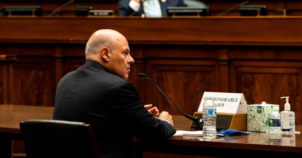 Postmaster General Investigated Over Possible Campaign Finance Violations