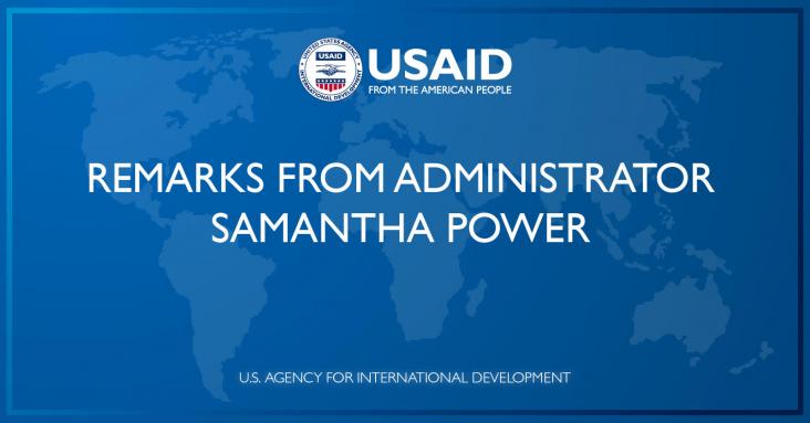 Remarks of Administrator Samantha Power at the U.S. International Development Finance Corporation Board Meeting | June 9, 2021 | U.S. Agency for International Development