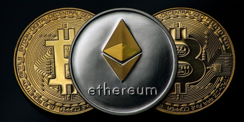Ether trading volumes surged by over 1,000% in the first half of this year, easily beating bitcoin's growth for the first time