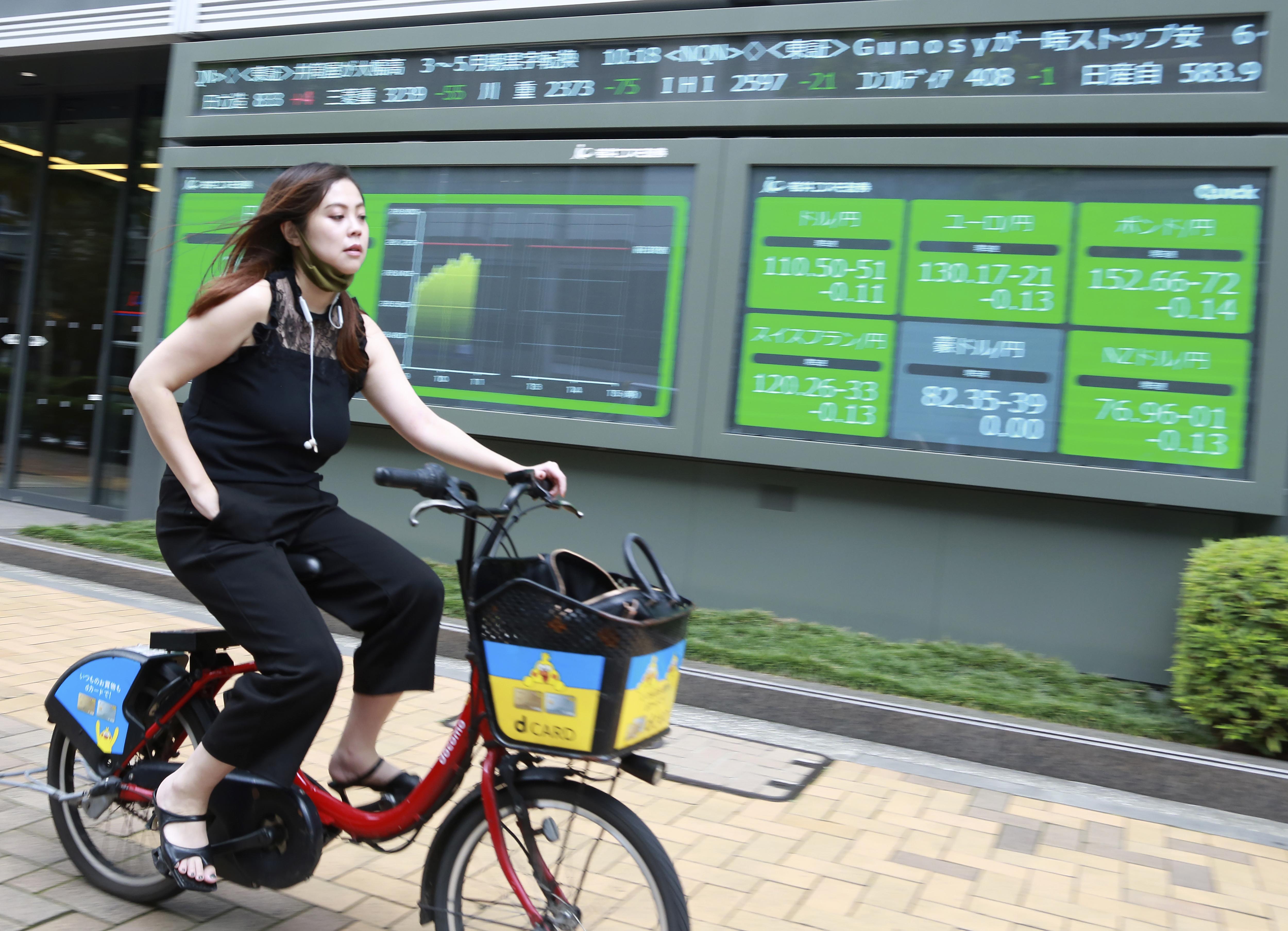 Ações asiáticas acompanham queda de Wall Street devido a preocupações com a inflação