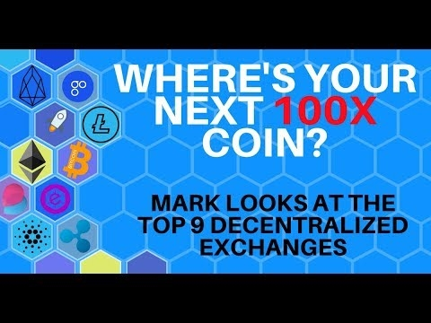 Where's Your Next 100x Coin? Top 9 Decentralized Crypto Exchanges