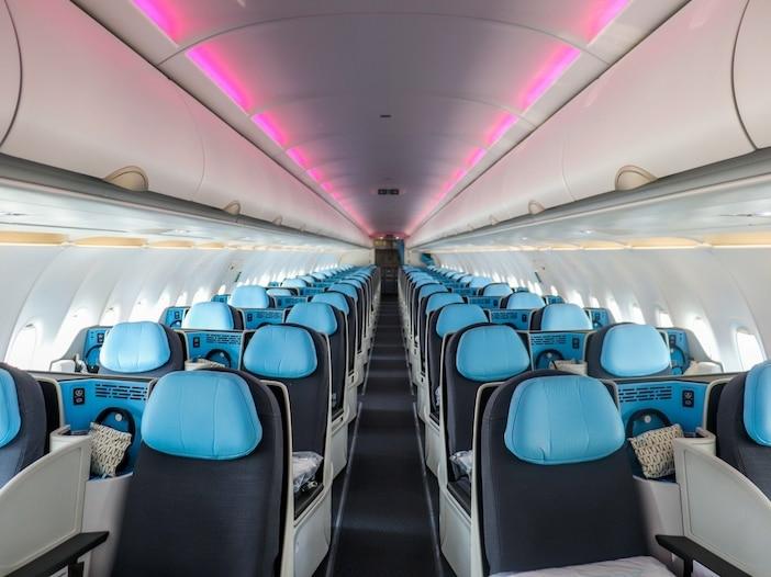 Я посетил La Compagnie, авиакомпанию бизнес-класса, летающую между США и Францией. Это больше всего похоже на частный перелет через Атлантику.