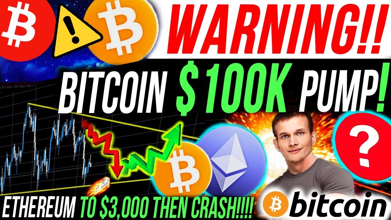 WAARSCHUWING!!🚨 BITCOIN $ 100K POMP ZAL JE REKT!!! ETHEREUM-KAART ZEGT CRASH OP $ 3.000!!! Bitcoin NIEUWS!